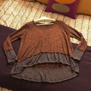 Oversized Free People Knit Top